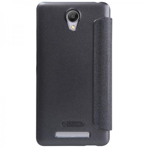 Husa Book Nillkin Sparkle Xiaomi Redmi Note 2, Gri [3]