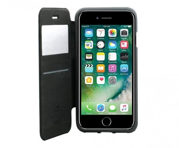 Husa Book View Mercury Goospery Wow iPhone 8, Gri 2