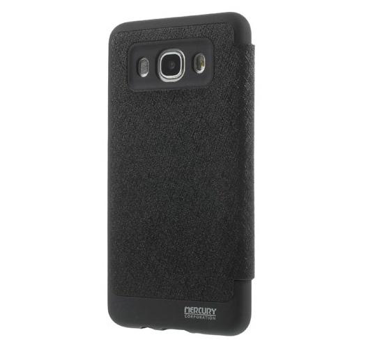 Husa Book View Mercury Goospery Wow Samsung Galaxy J5 (2016), Black 1