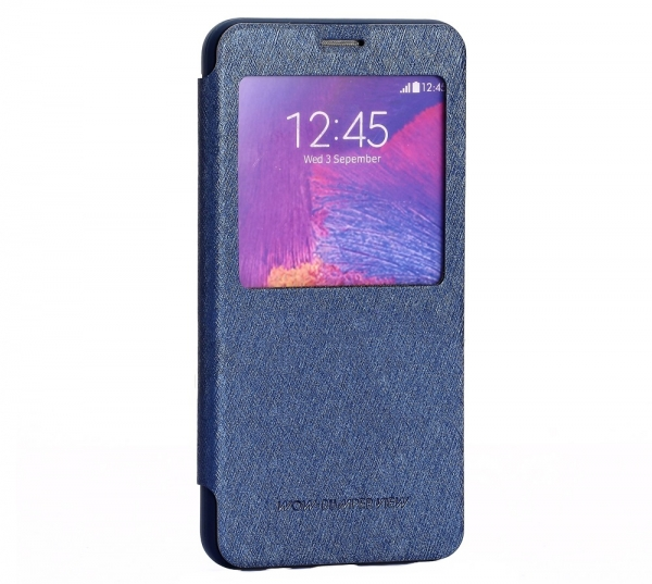 Husa Book View Mercury Goospery Wow Samsung Galaxy Note 5, Albastru 0