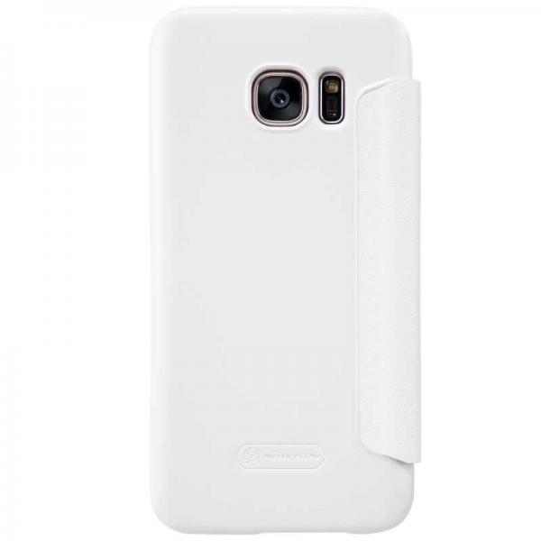 Husa Book View Nillkin Sparkle Samsung Galaxy S7, Alb 2