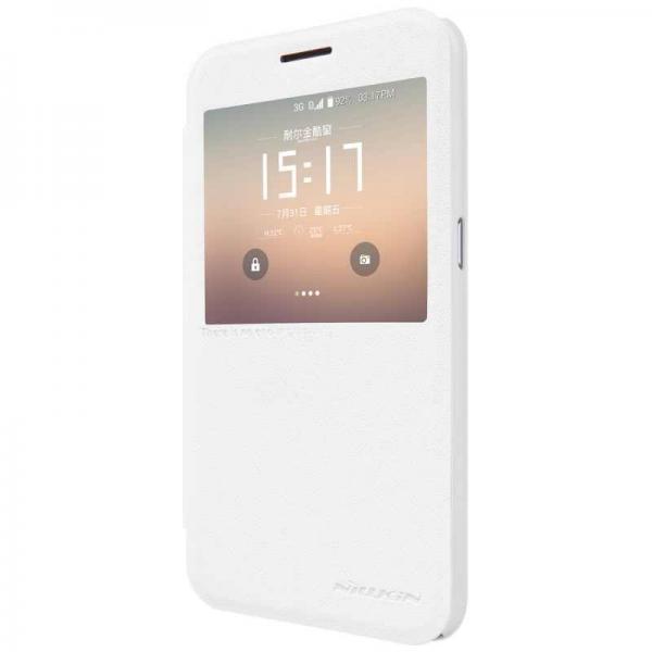 Husa Book View Nillkin Sparkle Samsung Galaxy S7, Alb 1
