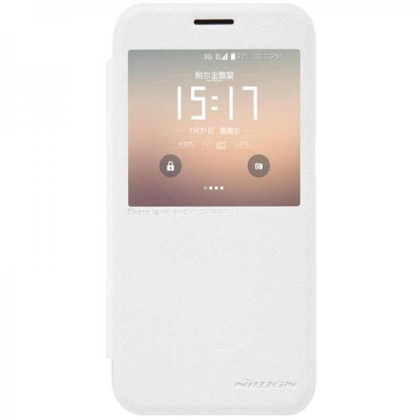 Husa Book View Nillkin Sparkle Samsung Galaxy S7, Alb 0