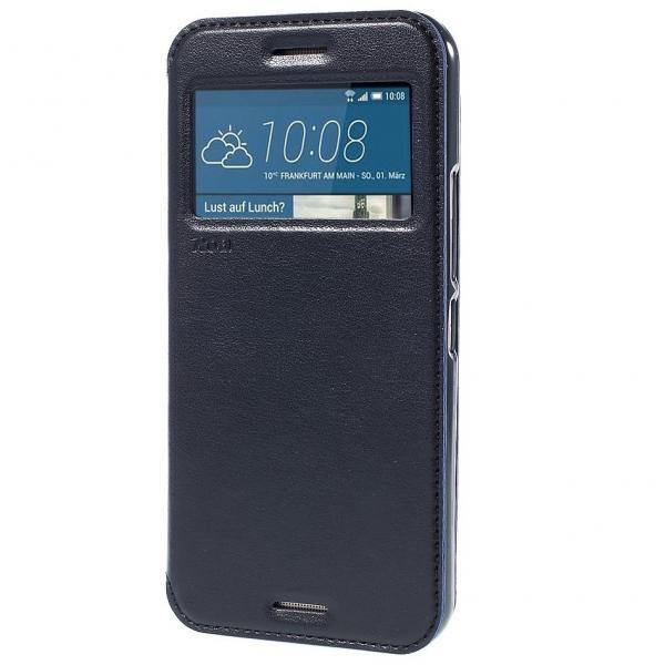 Husa Book View Roar Noble HTC One M9, Negru