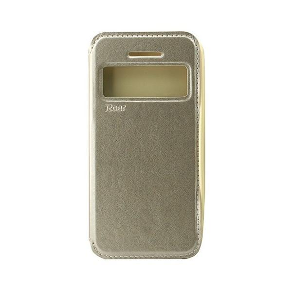 Husa Book View Roar Noble iPhone 5 / 5S / SE, Gold [0]