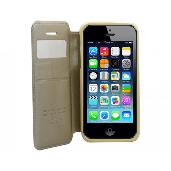 Husa Book View Roar Noble iPhone 5 / 5S / SE, Gold [2]
