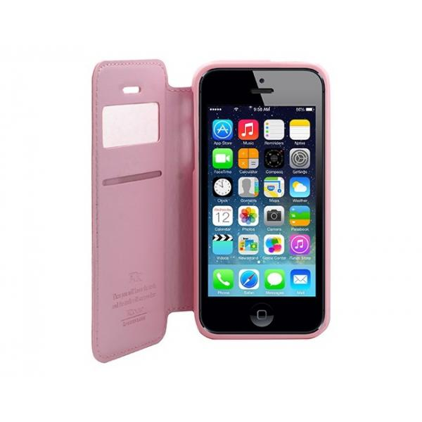 Husa Book View Roar Noble iPhone 5 / 5S / SE, Roz 2