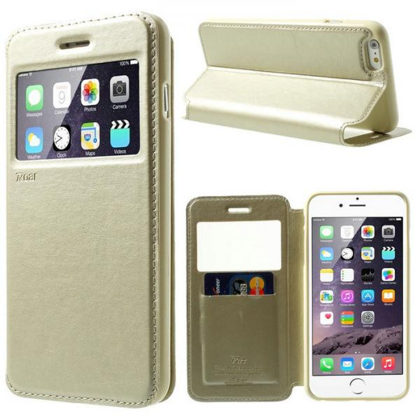 Husa Book View Roar Noble iPhone 6 / 6S, Gold 1