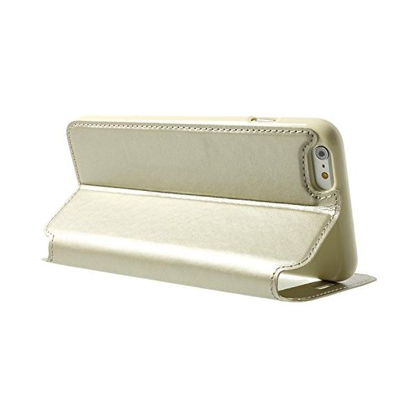 Husa Book View Roar Noble iPhone 6 / 6S, Gold 2