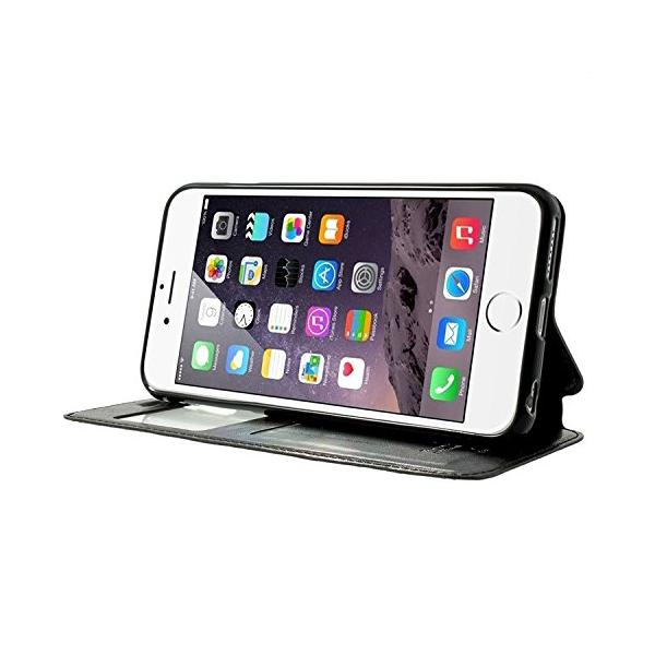 Husa Book View Roar Noble iPhone 6 / 6S, Negru 2