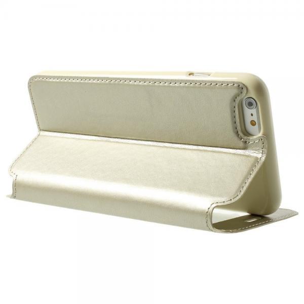 Husa Book View Roar Noble iPhone 6 Plus / 6S Plus, Gold 2