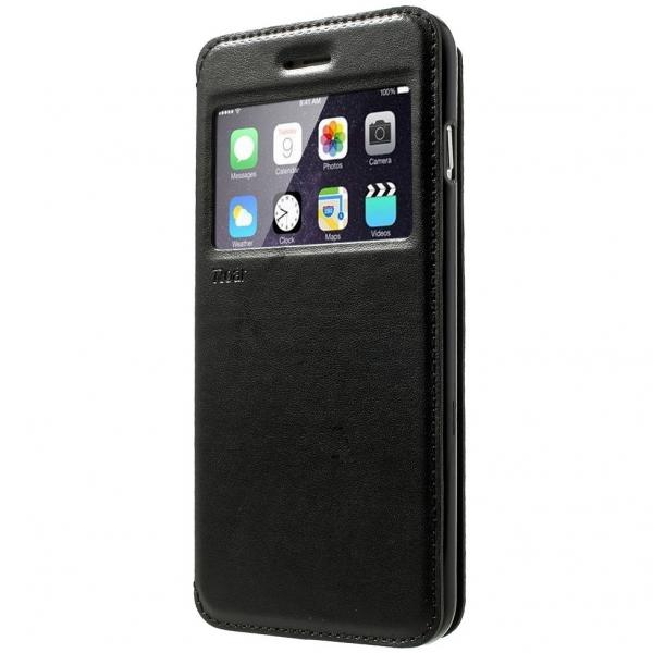 Husa Book View Roar Noble iPhone 6 Plus / 6S Plus, Negru 0