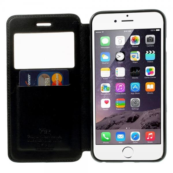 Husa Book View Roar Noble iPhone 6 Plus / 6S Plus, Negru 1