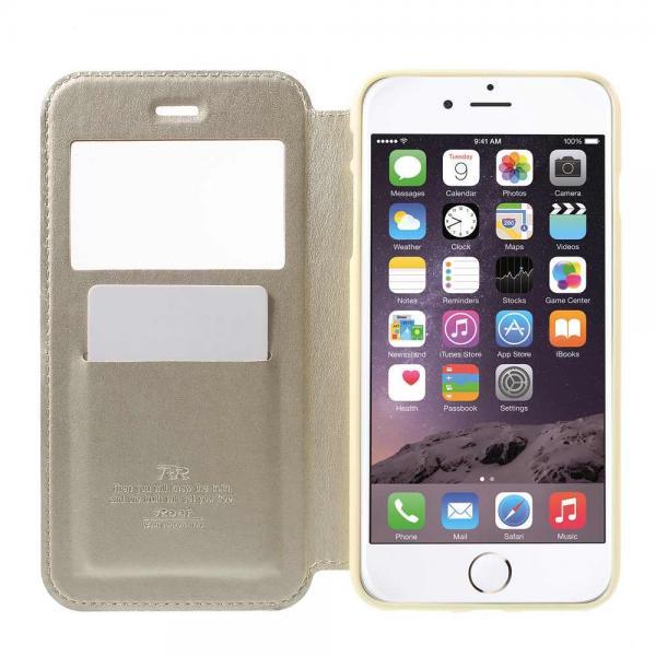 Husa Book View Roar Noble iPhone 8 Plus, Gold 4