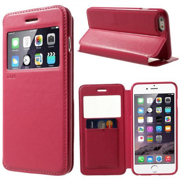 Husa Book View Roar Noble iPhone 8, Rosu 1