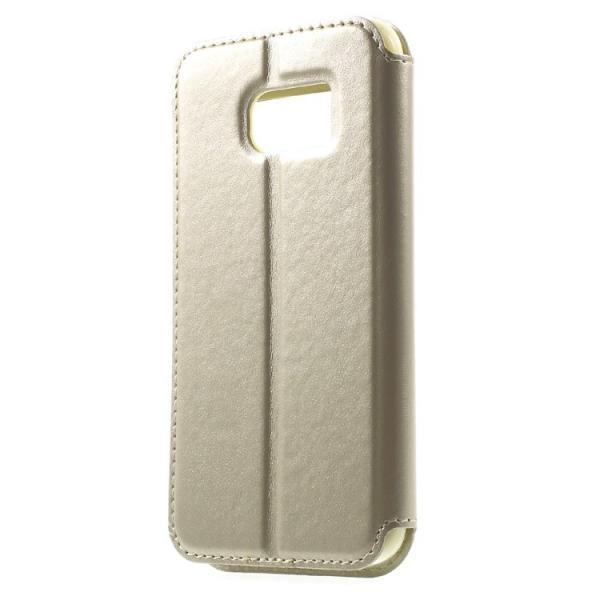 Husa Book View Roar Noble Samsung Galaxy S7, Gold 1