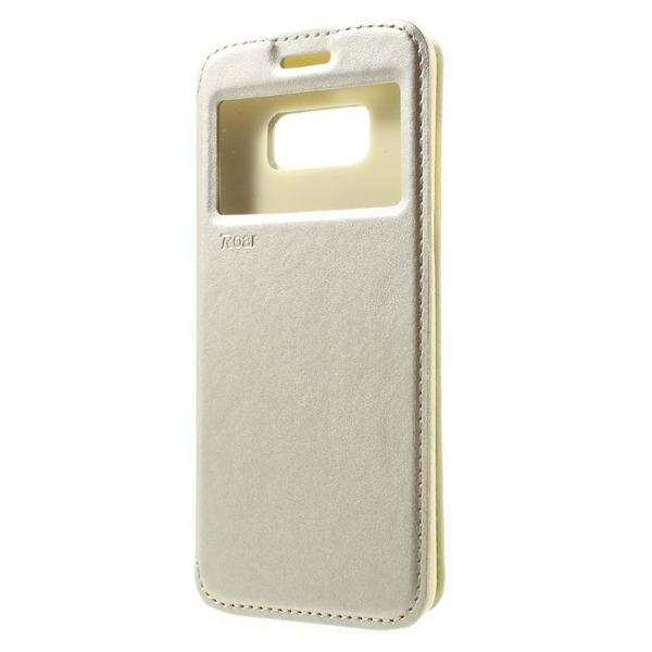 Husa Book View Roar Noble Samsung Galaxy S8 Plus, Gold 1