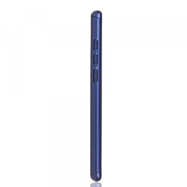Husa Full Cover 360 + folie sticla pentru Huawei P30, Albastru 3