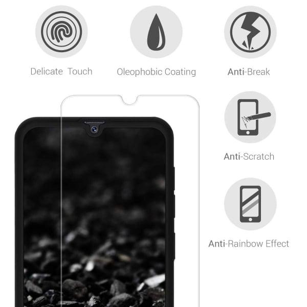 Husa Full Cover 360 + folie sticla pentru Samsung Galaxy A70, Negru 3