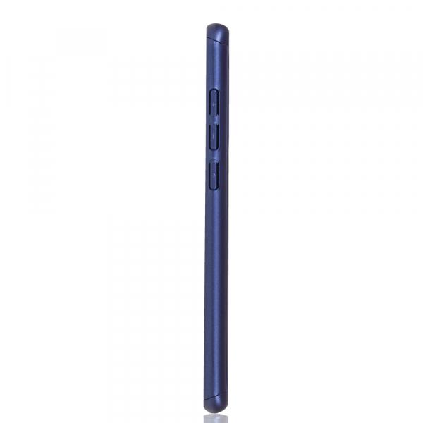 Husa Full Cover 360 + folie sticla pentru Xiaomi Mi 9, Albastru 2