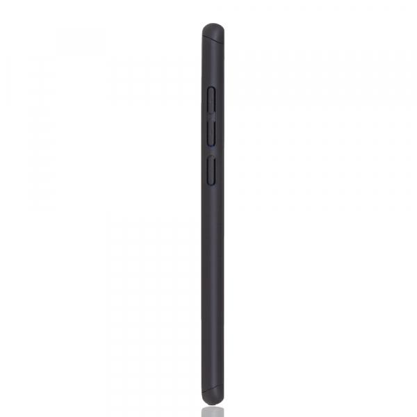 Husa Full Cover 360 + folie sticla pentru Xiaomi Mi 9, Negru 2