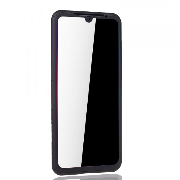 Husa Full Cover 360 + folie sticla pentru Xiaomi Mi 9, Negru 3