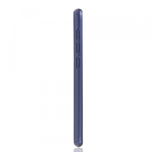 Husa Full Cover 360 + folie sticla pentru Xiaomi Mi 9 SE, Albastru 3