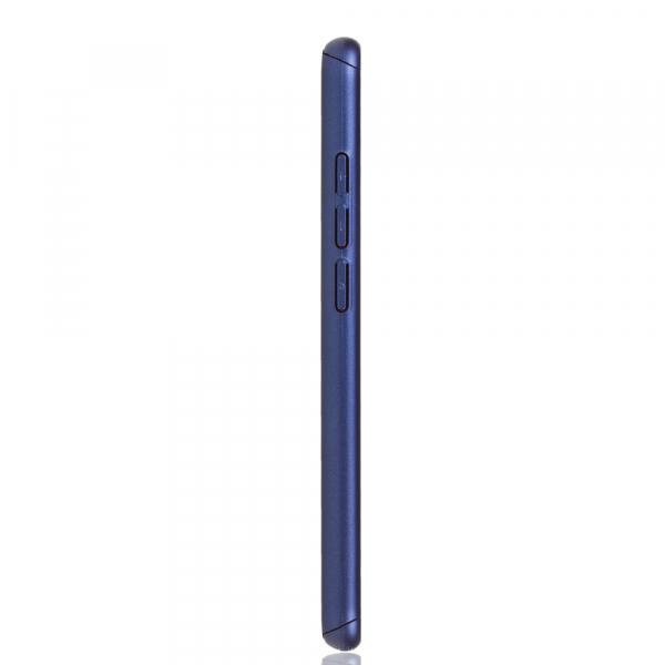 Husa Full Cover 360 + folie sticla pentru Xiaomi Redmi Note 7, Albastru 2
