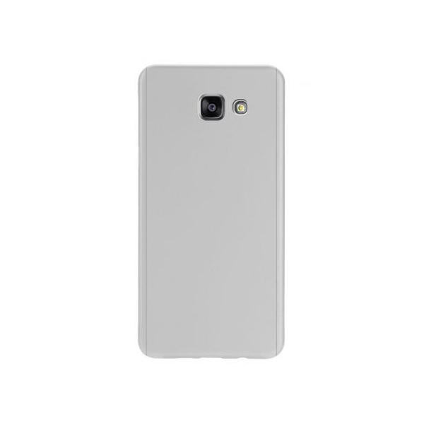 Husa Full Cover 360 + folie sticla Samsung Galaxy A5 (2016), Silver 2