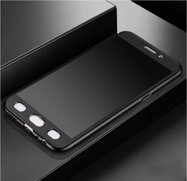 Husa Full Cover 360 + folie sticla Xiaomi Redmi 5A, Negru 3
