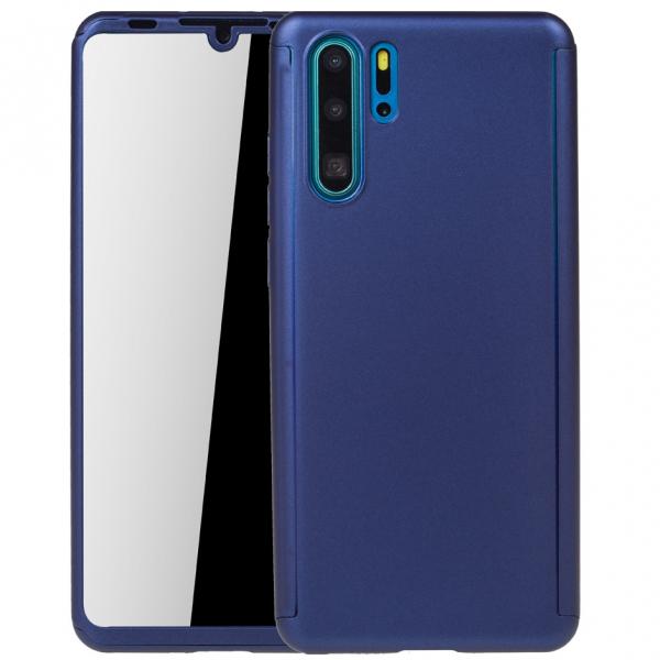 Husa Full Cover 360 pentru Huawei P30 Pro, Albastru 0