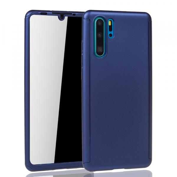 Husa Full Cover 360 pentru Huawei P30 Pro, Albastru 1