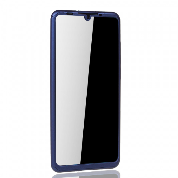 Husa Full Cover 360 pentru Huawei P30 Pro, Albastru 2