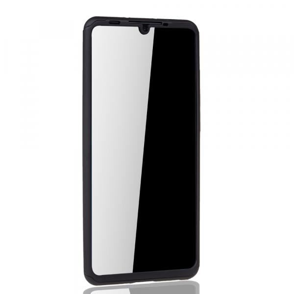Husa Full Cover 360 pentru Huawei P30 Pro, Negru 2