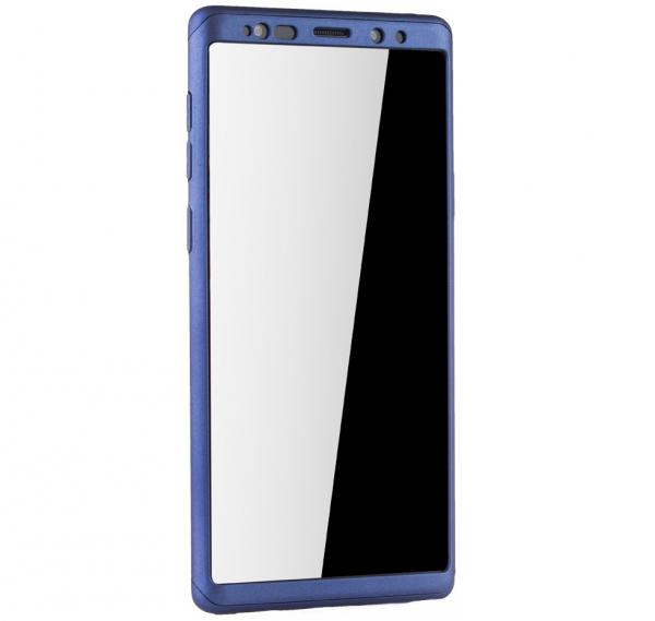 Husa Full Cover 360 pentru Samsung Galaxy Note 9, Albastru [2]