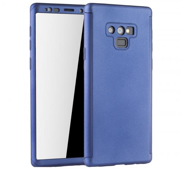 Husa Full Cover 360 pentru Samsung Galaxy Note 9, Albastru [0]