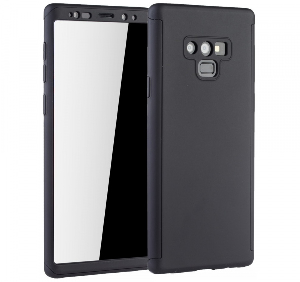 Husa Full Cover 360 pentru Samsung Galaxy Note 9, Negru 0