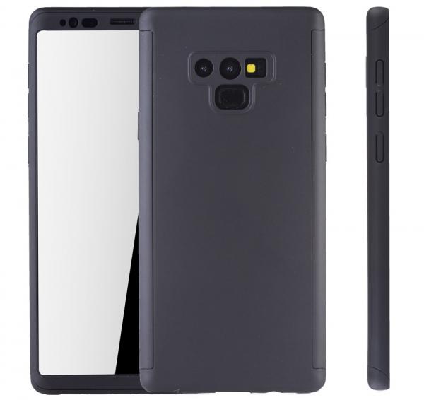 Husa Full Cover 360 pentru Samsung Galaxy Note 9, Negru 1