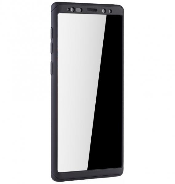 Husa Full Cover 360 pentru Samsung Galaxy Note 9, Negru 2