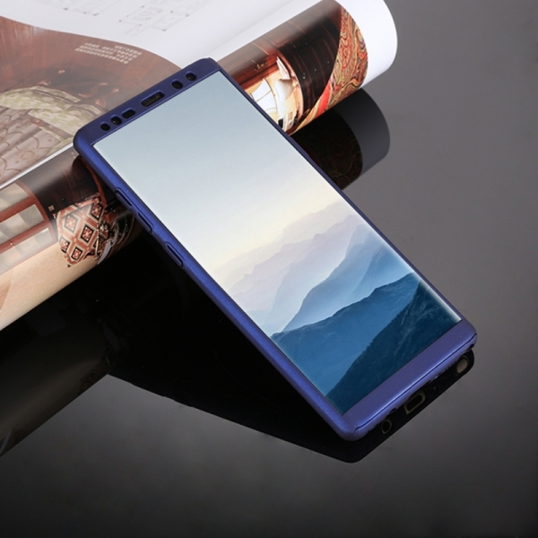 Husa Full Cover 360 Samsung Galaxy Note 8, Albastru 3