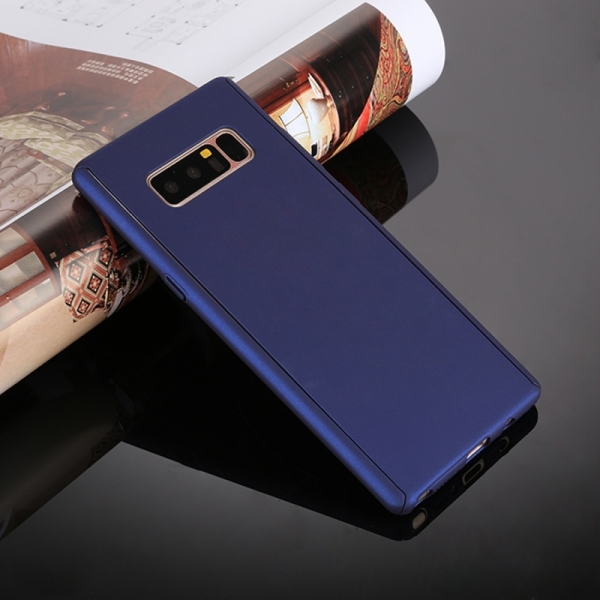 Husa Full Cover 360 Samsung Galaxy Note 8, Albastru 1