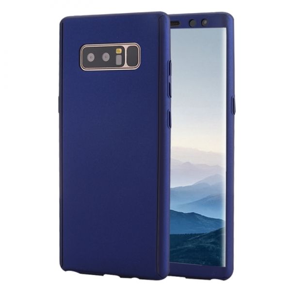 Husa Full Cover 360 Samsung Galaxy Note 8, Albastru 0
