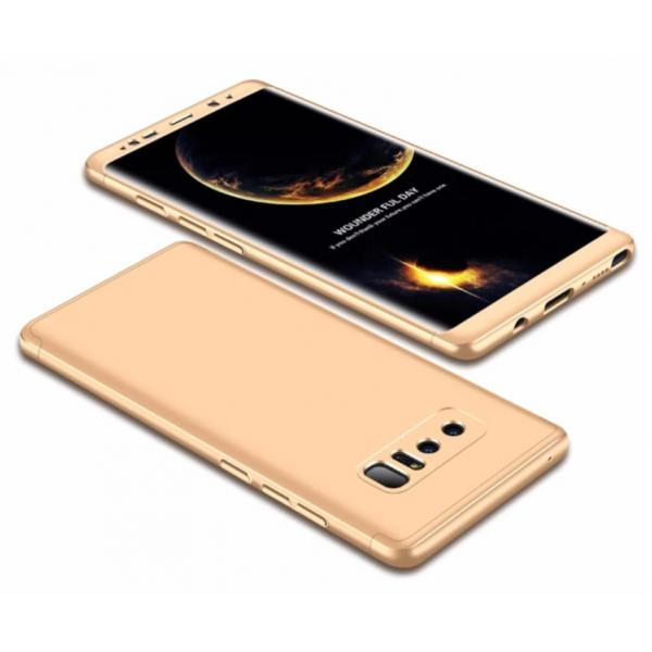 Husa Full Cover 360 Samsung Galaxy Note 8, Gold