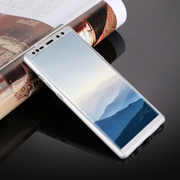 Husa Full Cover 360 Samsung Galaxy Note 8, Silver 2