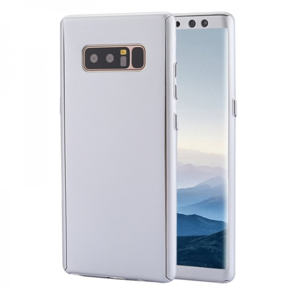 Husa Full Cover 360 Samsung Galaxy Note 8, Silver 0