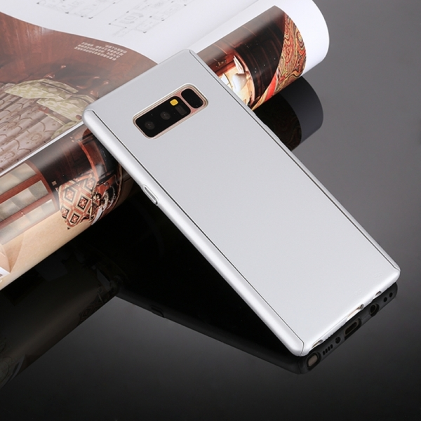 Husa Full Cover 360 Samsung Galaxy Note 8, Silver 1