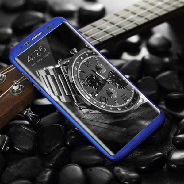 Husa Full Cover 360 Samsung Galaxy S8, Albastru 1