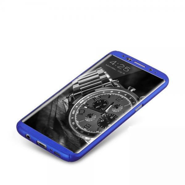 Husa Full Cover 360 Samsung Galaxy S8, Albastru 2