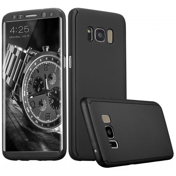 Husa Full Cover 360 Samsung Galaxy S8, Negru