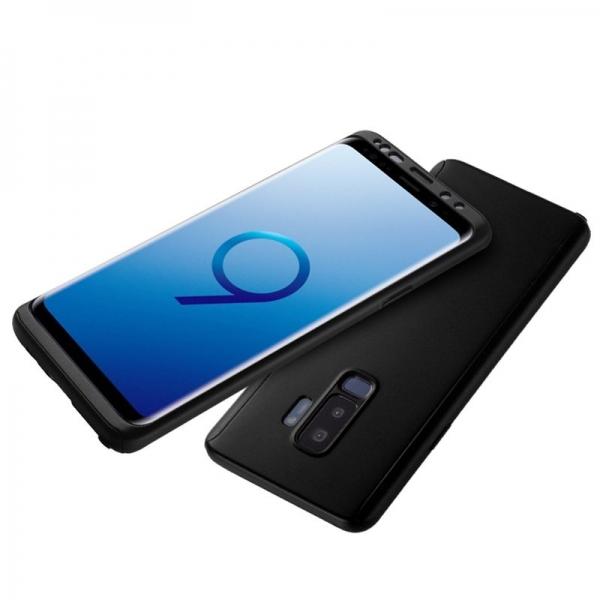 Husa Full Cover 360 Samsung Galaxy S9, Negru 1